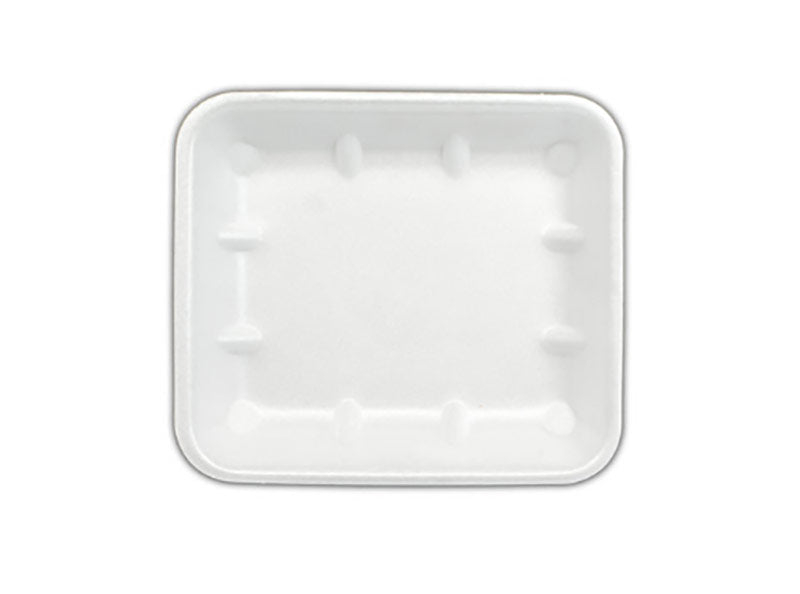 FOAM TRAYS -8X5 WHITE NON ABSORB(360)