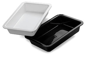 12 X 8 X 2 BLACK TRAYS