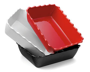 RIPPLE TRAY RED 335X265X85MM (FDSB2-R)