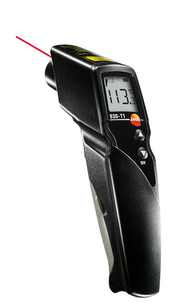 INFRA RED THERMOMETER 60c-500c(830 T1)