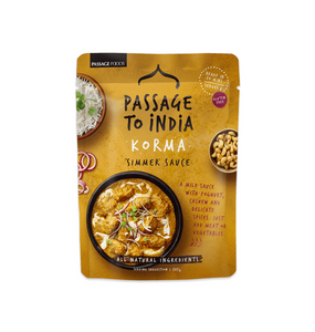 PASSAGE TO INDIA KORMA CURRY 6 X 375G