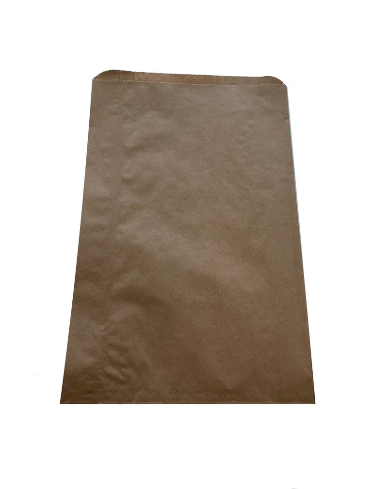 PAPER BAG BROWN THREE BOTTLE(500)