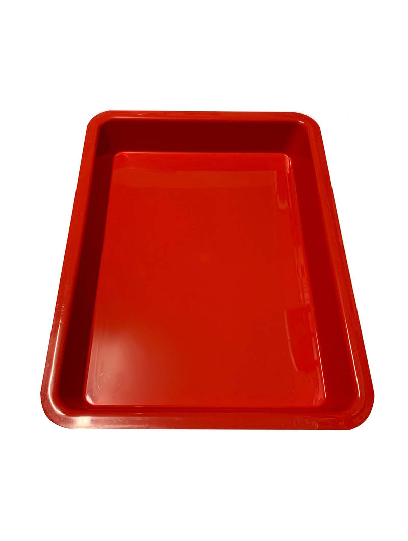 16 X 12 X 2 RED TRAYS