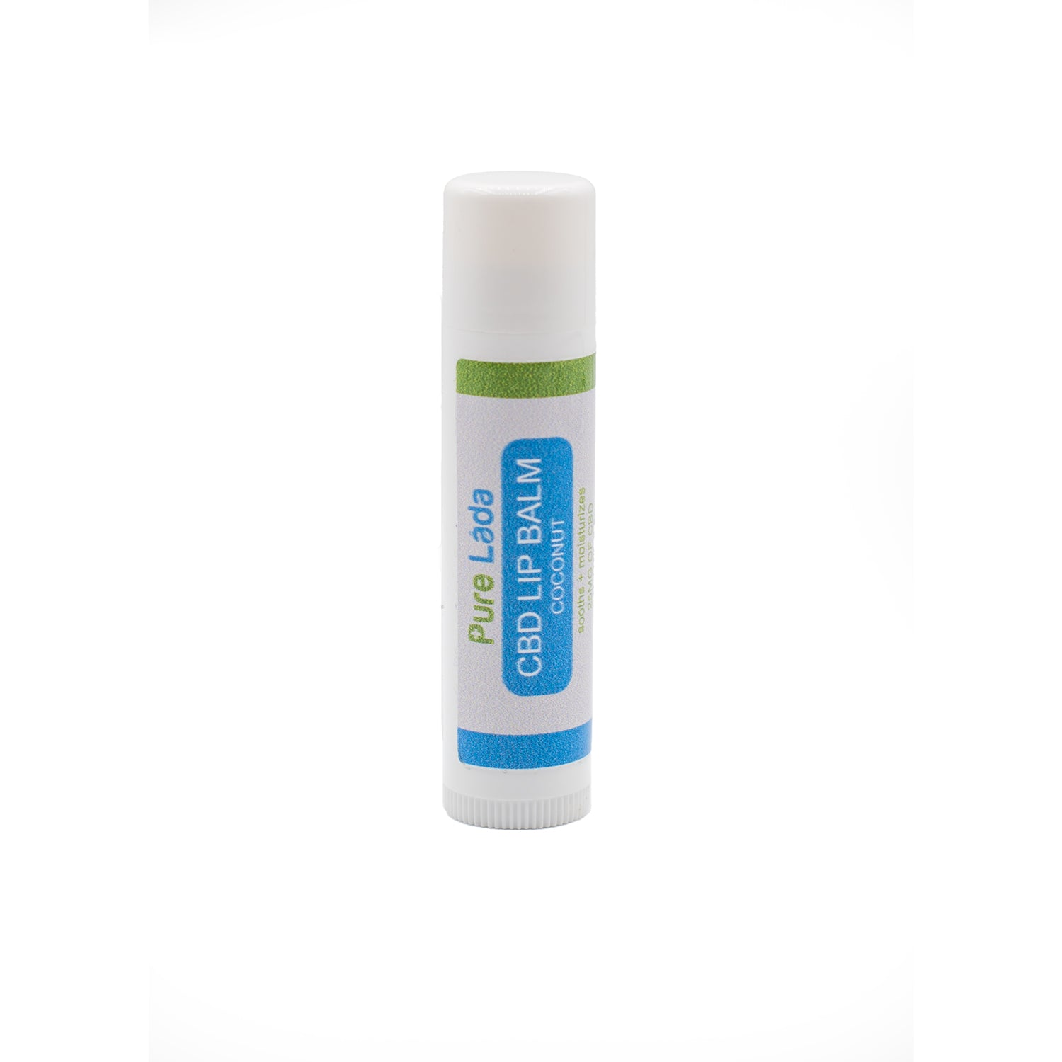 25 mg CBD Lip Balm - Coconut Flavor