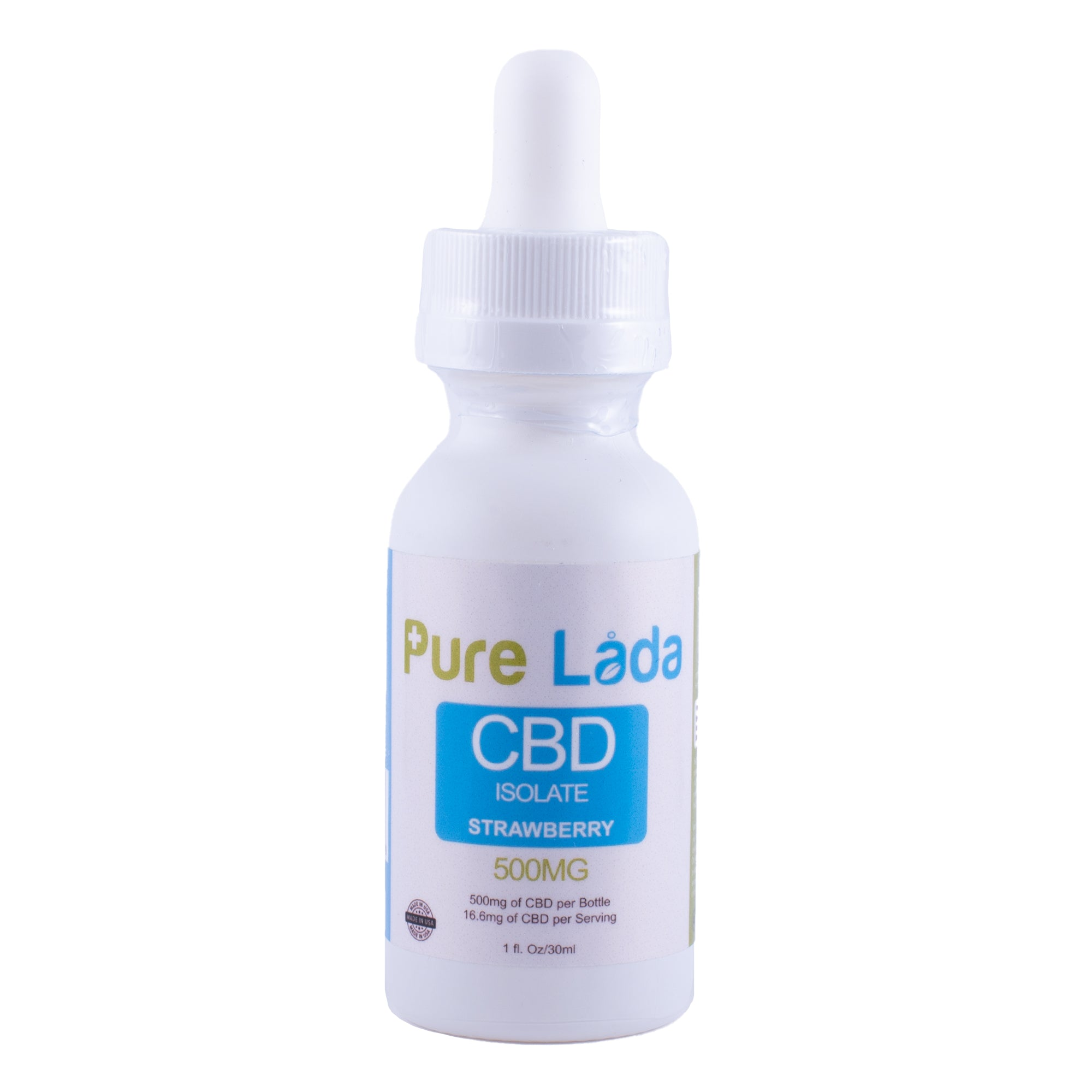 500mg CBD Tincture Drops - Strawberry
