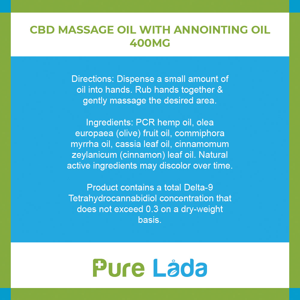 20mg Massage Oil w/ Anointing Oil