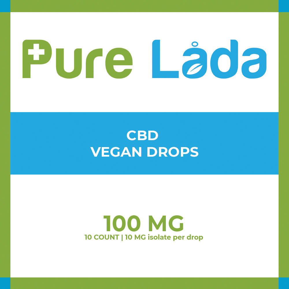100mg CBD Vegan Drops