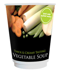 12oz FreshSeal Cup - Vegetable Soup (1x10)