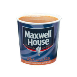 76mm InCup - Maxwell House White (15x25)