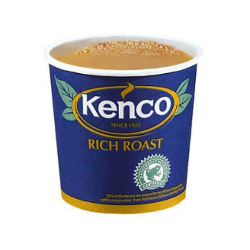 76mm InCup - Kenco Really Rich White - 375 cups (15x25)