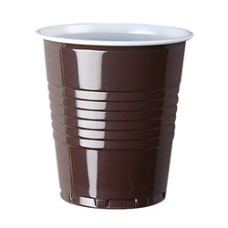 7oz Nupik Squat Brown/White Vending Cup 2000x (20x100)