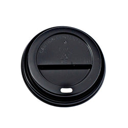 Hot Sip Lid (HSL90) (Fits 12oz DW+16oz SW, DW) - Black 1000x (10x100)
