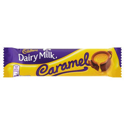 Cadbury Caramel Chocolate Bar (48x45g)