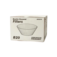 Bravilor B20 Bulk Brew Filter Paper Cups 250x