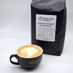 Green Farm Coffee - Washed Decaffeinated Ground Coffee (1kg)