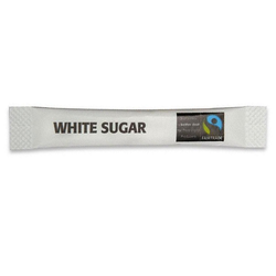 Fairtrade White Sugar Sticks (1x1000)