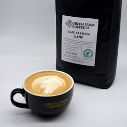Green Farm Coffee - Cafe Fazenda Ground Coffee (1kg)