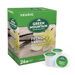 KEURIG Green Mountain Coffee Roasters® French Vanilla Coffee Pods (24 pods)