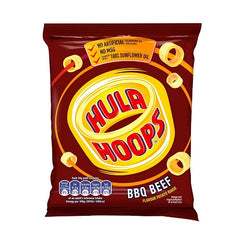 Hula Hoops BBQ Beef Potato Rings (48x34g)