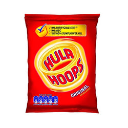 Hula Hoops Original Potato Rings (48x34g)