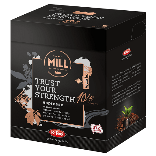 "K-fee ""Trust Your Strength"" Coffee Capsules (12 pods)"