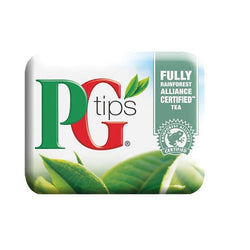 Klix Cup - PG Tips Tea Bag White (20x25)