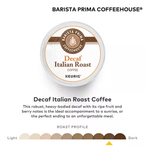KEURIG Barista Prima Coffeehouse® Decaf Italian Roast Coffee Pods (24 pods)