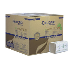 Napkins Lucart Eco 2Ply - Natural 6000x (40x150pc)