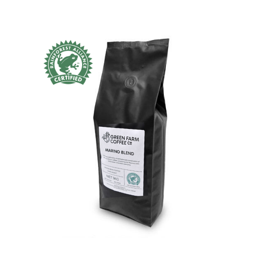 Green Farm Coffee - Marino Espresso Blend Coffee Beans (1kg)