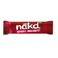 Nakd Berry Delight Gluten Free Bar (18x35g)