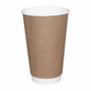 12oz Natural Double Wall Paper Cup - 740x (Lid to fit HSL90)