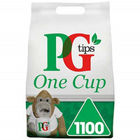 PG Tips One Cup Tea Bags (1x1100)