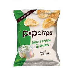 Popchips Sour Cream & Onion (24x23g)