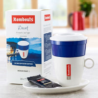 Rombouts Decaff One Cup Filters (1x10)