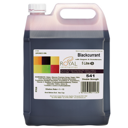 Royal Vending Syrup - Blackcurrant (5L)