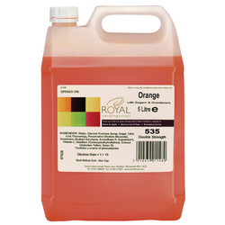 Royal Vending Syrup - Orange (5L)