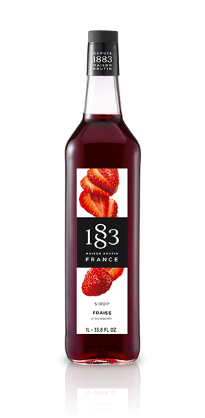 Routin 1883 Syrup - Strawberry (1L)