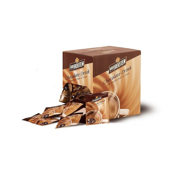 [DISCOUNTED] Van Houten Hot Chocolate Sachets (100 sachets x 23g) - BBE April 2021