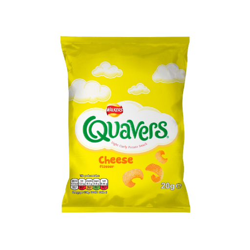 Walkers Quavers Cheese Crisps (32x20g)