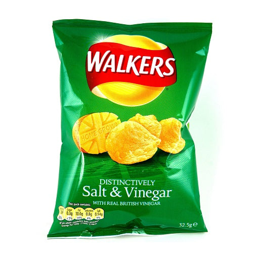 Walkers Salt & Vinegar Crisps (32x32.5g)