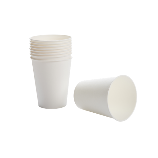 9oz White Paper Vending Cups - 1000x