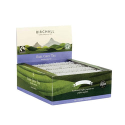 Birchall Fairtrade Earl Grey Tea Bags - Tagged (10x100)