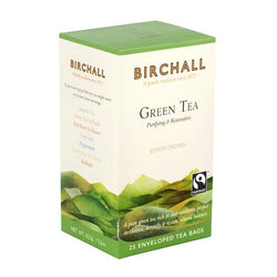 Birchall Green Tea Bags - Enveloped (1x25)
