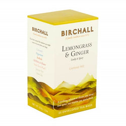 Birchall Lemongrass & Ginger Tea Bags - Enveloped (1x25)