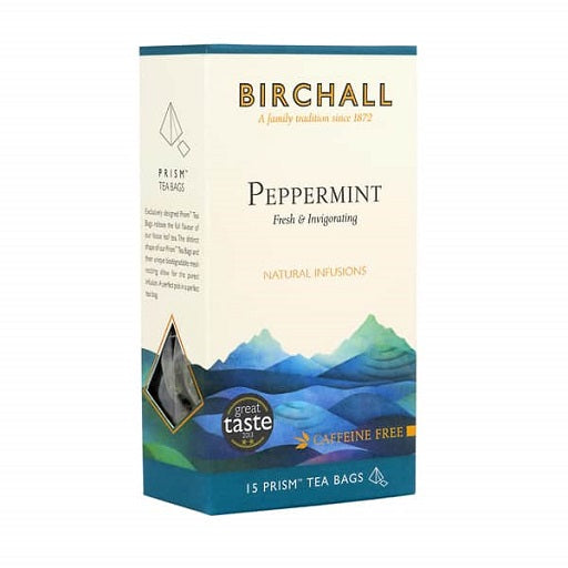 Birchall Peppermint Tea - Prism Bags (1x15)