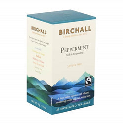 Birchall Peppermint Tea Bags - Enveloped (1x25)