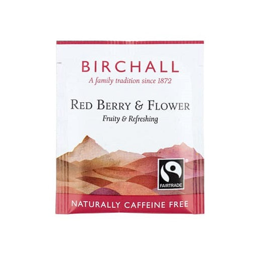 Birchall Red Berry & Flower Tea Bags - Enveloped (1x25)