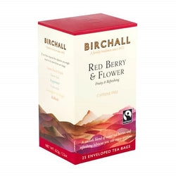 Birchall Red Berry & Flower Tea Bags - Enveloped (6x25)
