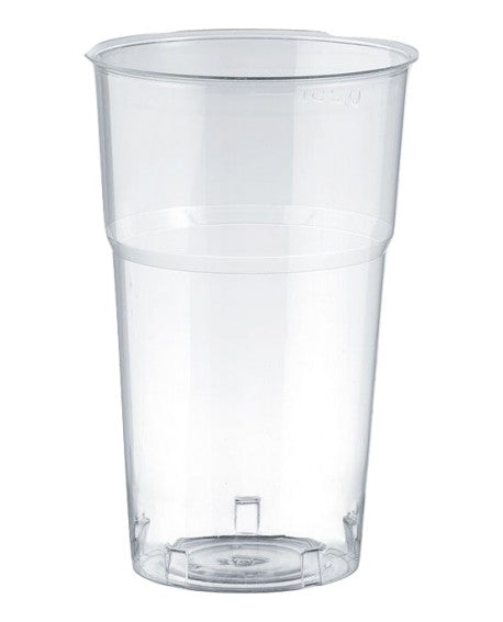 1 Pint (20oz) Katerglass Tumbler - widely regarded as the strongest disposable plastic glasses