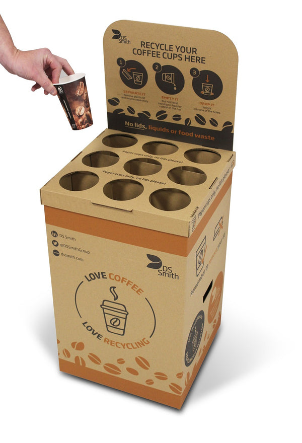 Drop Box - Recycle Used Coffee Cups (Pack of 6)
